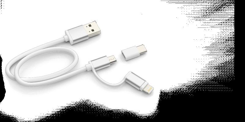 Zip - USB Ladegerät mit Logo