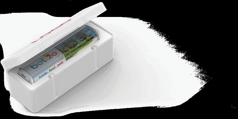 Foto - Powerbank Kreditkartenformat