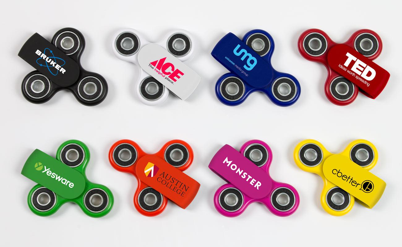 Sport Plus - Fidget Spinner mit Logo