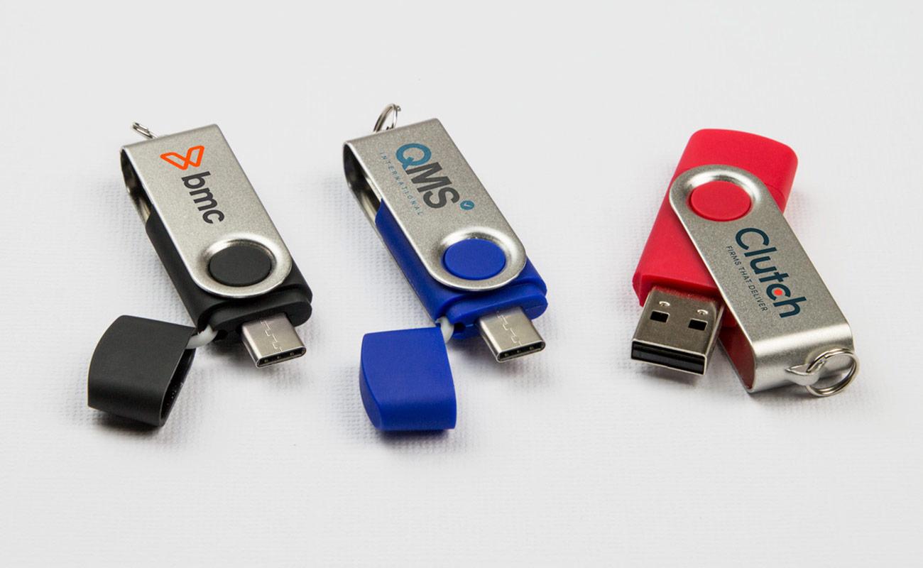 Twister Go - USB Sticks mit Logo