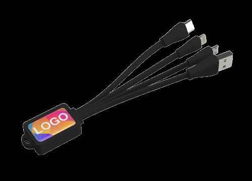 Multi - Bedrucktes Octopus USB-Ladekabel
