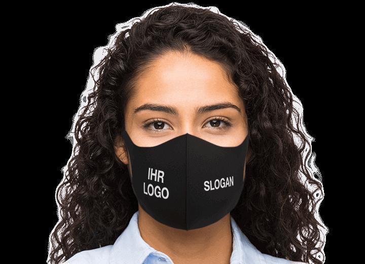 Neo - Schutzmaske mit Logo