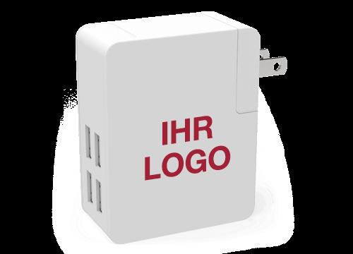 Latitude - USB Reiseladegerät Bedrucken