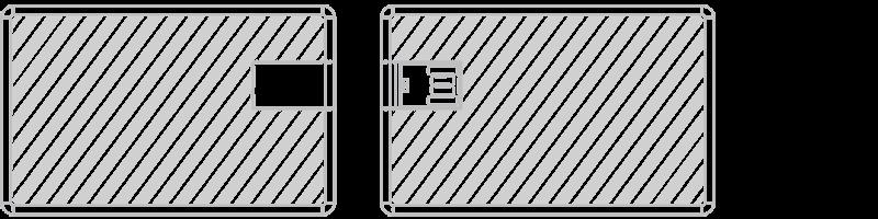 USB Karte Lasergravur