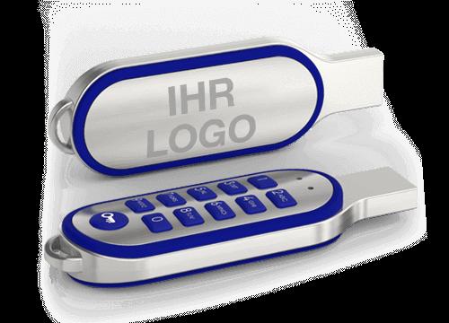 Code - Bedruckter USB-Stick mit Verschlüsselung