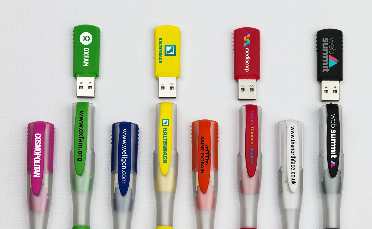 Ink - USB Kugelschreiber mit Logo