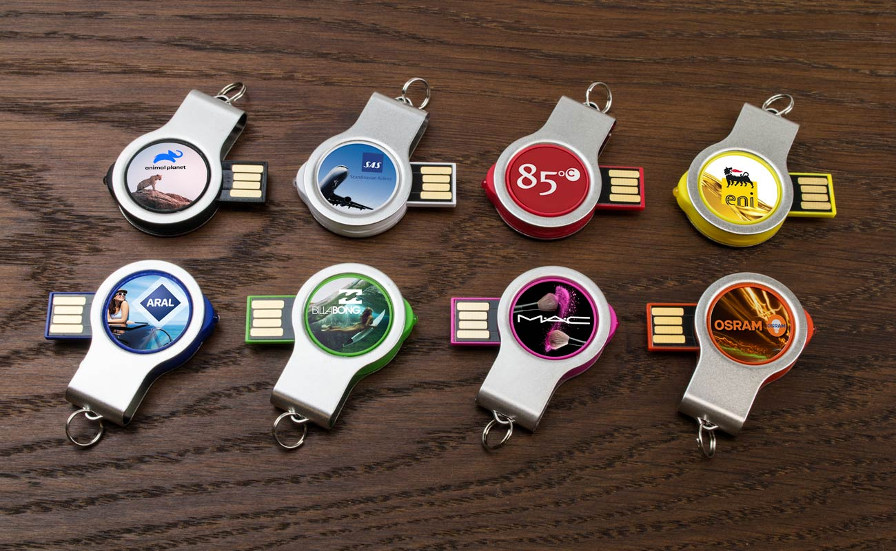 Light - USB Sticks mit Logo