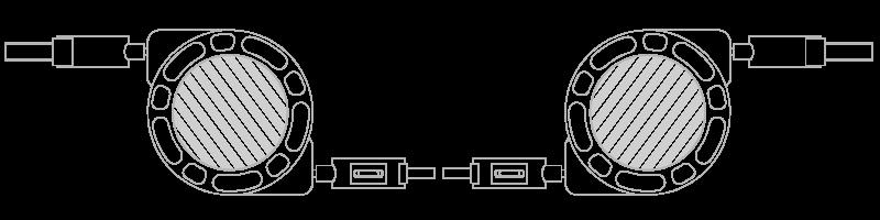 USB Kabel Fotodruck