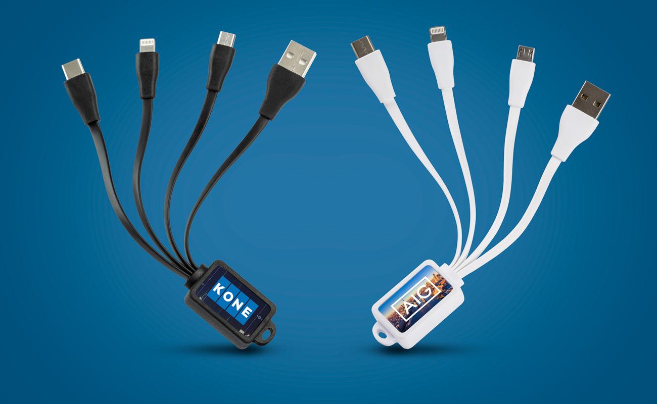 Multi - Personalisiertes Octopus USB-Kabel