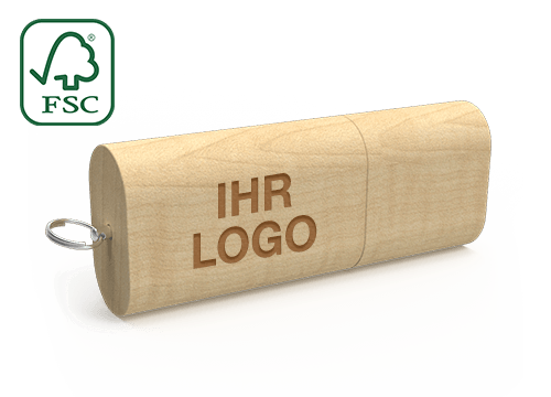 Nature - USB Stick Aus Holz