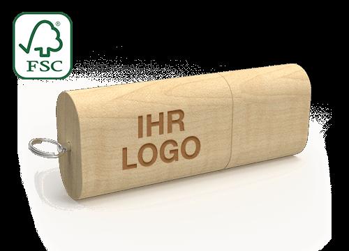 Nature - USB Stick Aus Holz