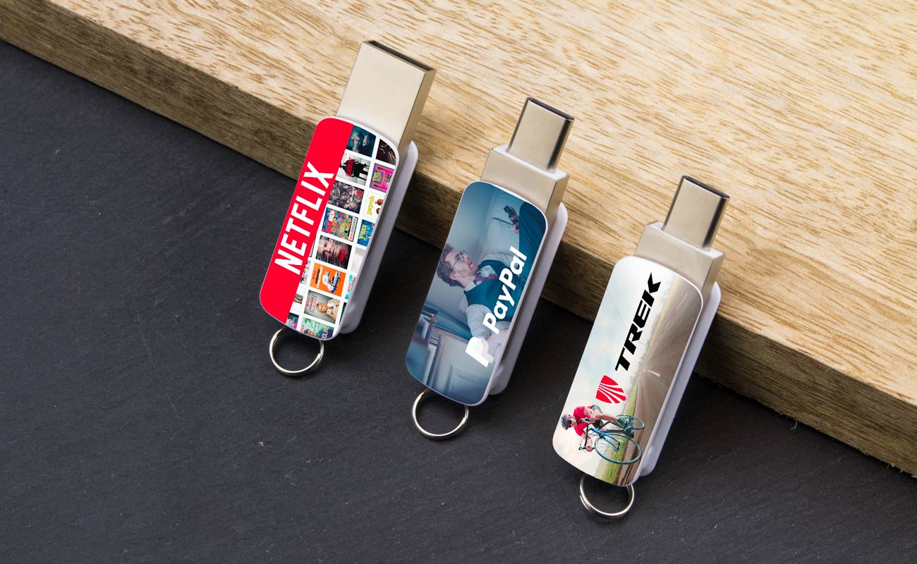Orbit - USB Sticks mit Logo