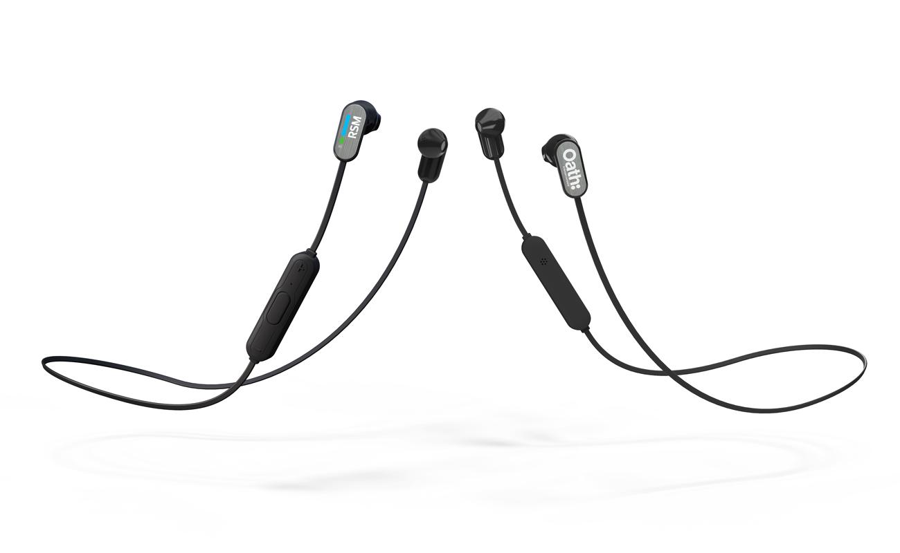 Peak - Wireless in Ear Kopfhörer Bedrucken