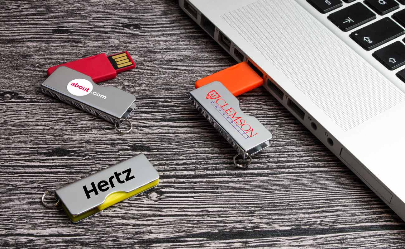 Rotator - USB Sticks mit Logo