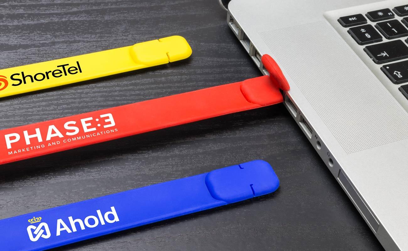 Slap - Personalisiertes USB Armband